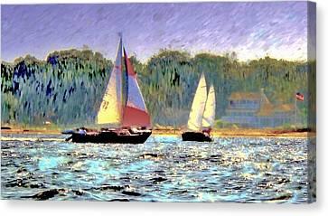 Make Some Memories  Canvas Print by Rick Todaro