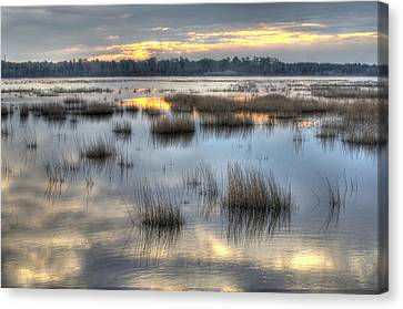 Makepeace Lake Canvas Print