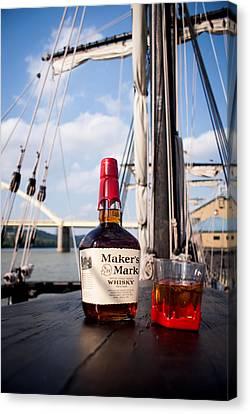 Maker's Aboard Canvas Print by Wayne Stacy