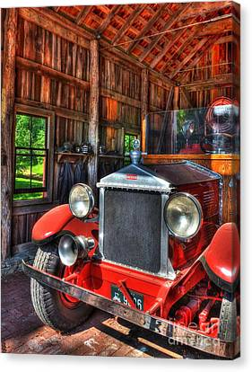 Maker's Mark Firehouse 2 Canvas Print by Mel Steinhauer