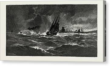 Making Port Hope In A Storm, Canada Canvas Print by Canadian School