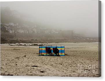 Making The Most Of Their Holiday Canvas Print by Terri Waters