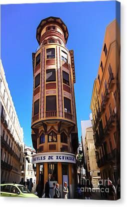 Malaga Canvas Print - Malaga Architecture by Lutz Baar