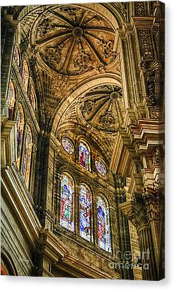 Malaga Cathedral IIi Canvas Print by Rene Triay Photography