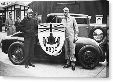 Malcolm Campbell And Earl Howe Canvas Print
