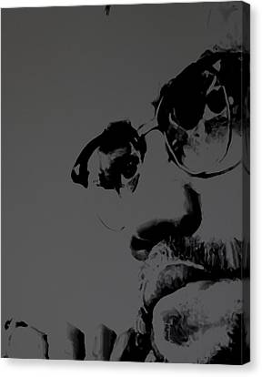 Malcolm X Canvas Print by Brian Reaves