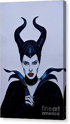 Maleficent Canvas Print by Justin Moore