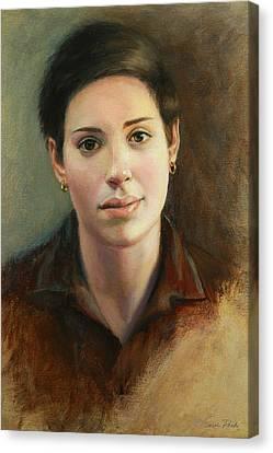 Malena Canvas Print by Sarah Parks