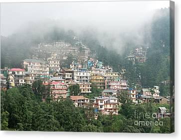 Maleod Ganj Of Dharamsala Canvas Print by Yew Kwang