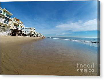 Malibu Beach Canvas Print