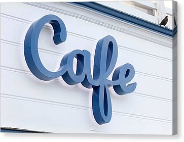 Coffee Shop Canvas Print - Malibu Pier Cafe by Art Block Collections