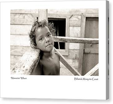Canvas Print featuring the photograph Mamacita Wilson by Tina Manley