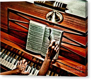 Momma's Hymnal Canvas Print by Robert Frederick