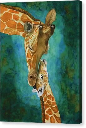 Mama's Love Canvas Print by Laurie Henry