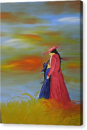 Mama's Love Canvas Print