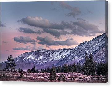 Mammoth Mountain Near Mammoth Lakes Canvas Print