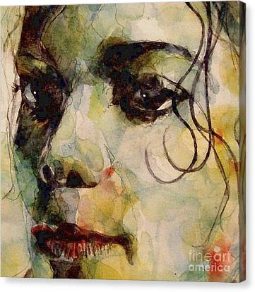 Man In The Mirror Canvas Print by Paul Lovering