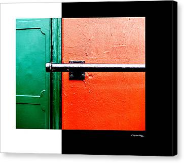 Canvas Print - Man Made Abstract 3 by Xoanxo Cespon