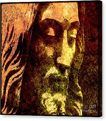 Man Of Sorrows Canvas Print by Michael Grubb