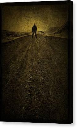 Man On A Mission Canvas Print by Evelina Kremsdorf