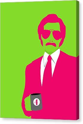 Man Poster Canvas Print