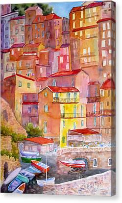 Manarola Italy Canvas Print