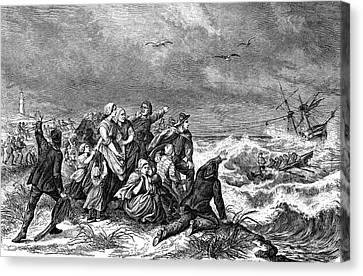 Manby Mortar Wreck Rescue Canvas Print by Bildagentur-online/tschanz