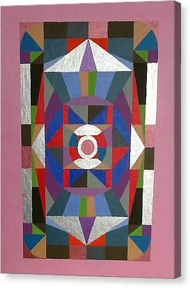 Mandala 1 Canvas Print by Hang Ho