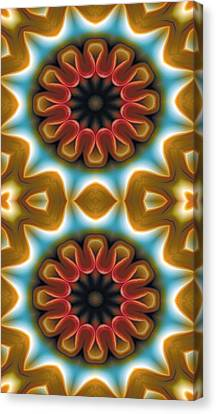 Mandala 100 For Iphone Double Canvas Print