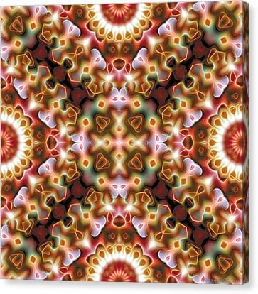 Mandala 121 Canvas Print by Terry Reynoldson