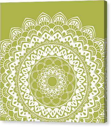 Mandala 4 Canvas Print by Tamara Robinson