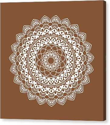 Mandala 6 Canvas Print by Tamara Robinson