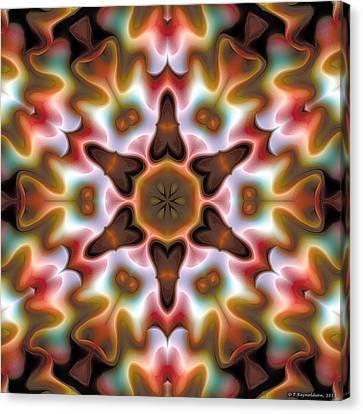 Abstract Art Canvas Print - Mandala 68 by Terry Reynoldson