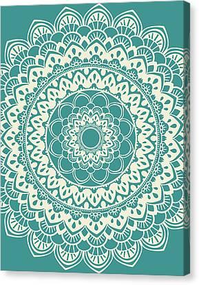 Mandala 7 Canvas Print by Tamara Robinson