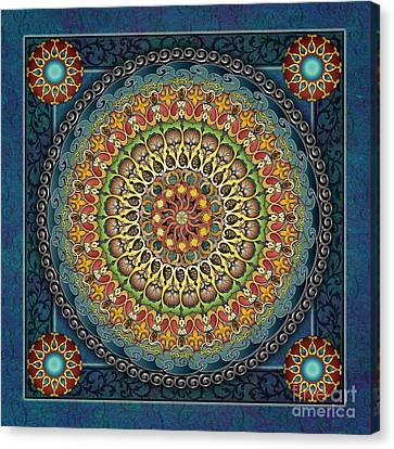 Mandala Fantasia Canvas Print