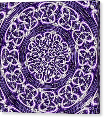 Canvas Print featuring the photograph Mandala by Linda Weinstock