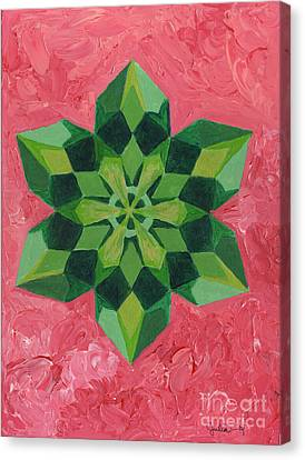 Mandala Of The Heart Canvas Print