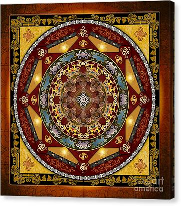 Mandala Oriental Bliss Canvas Print