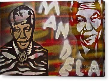 Mandela Canvas Print