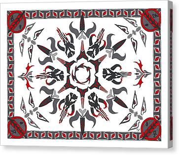 Mando'ade Darasuum Canvas Print by Mary J Winters-Meyer