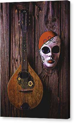 Mandolin Still Life Canvas Print