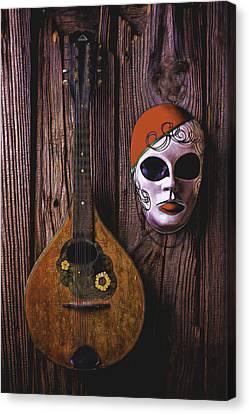 Mandolin Still Life Canvas Print by Garry Gay