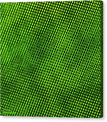 Manganese Oxide Nanoparticle Canvas Print by Ammrf, University Of Sydney