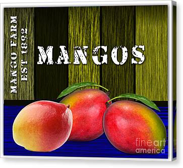 Mango Canvas Print - Mango Farm by Marvin Blaine