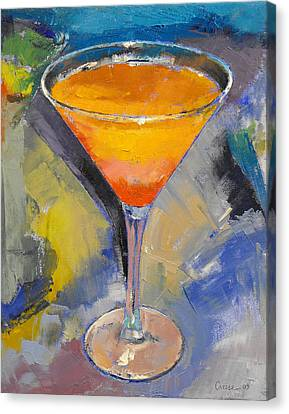 Mango Martini Canvas Print by Michael Creese
