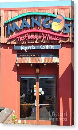 Mangos Restaurant At San Francisco California 5d26092 Canvas Print by Wingsdomain Art and Photography