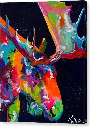 Mangy Moose Canvas Print by Tracy Miller