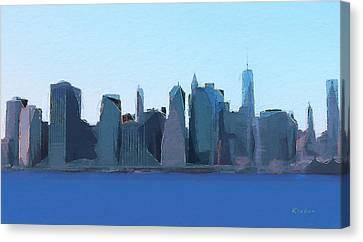 Manhattan 2014 Canvas Print