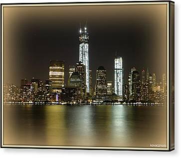 Manhattan  Canvas Print by David Kovac
