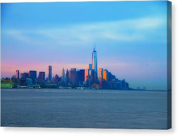 Manhattan In The Morning Canvas Print